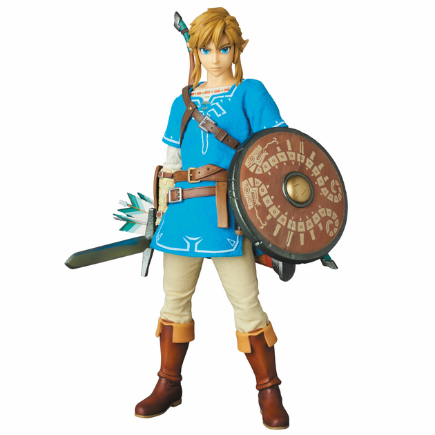 Figurine The Legend of Zelda Breath of the Wild RAH Link 30cm 1001 Figurines