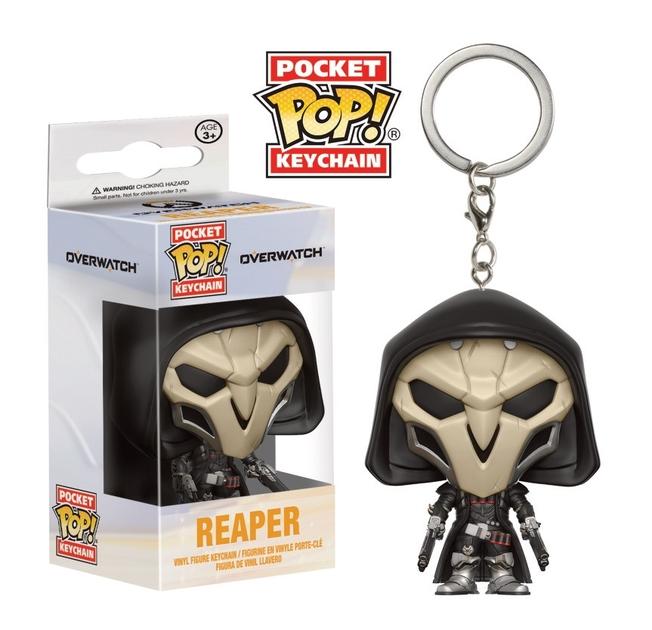 Porte-clés Overwatch Pocket POP! Reaper 4cm 1001 Figurines