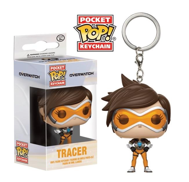 Porte-clés Overwatch Pocket POP! Tracer 4cm 1001 Figurines