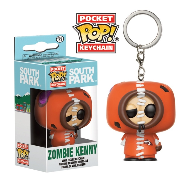 Porte-clés South Park Pocket POP! Zombie Kenny 4cm 1001 Figurines