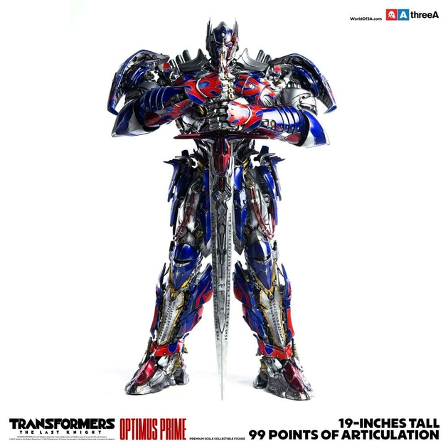 Figurine Transformers The Last Knight Optimus Prime 48cm 1001 Figurines