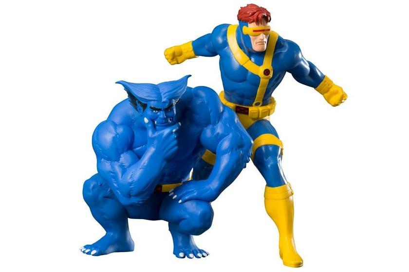 Statuettes Marvel Universe ARTFX+ Cyclops & Beast X-Men92 - 16cm 1001 Figurines