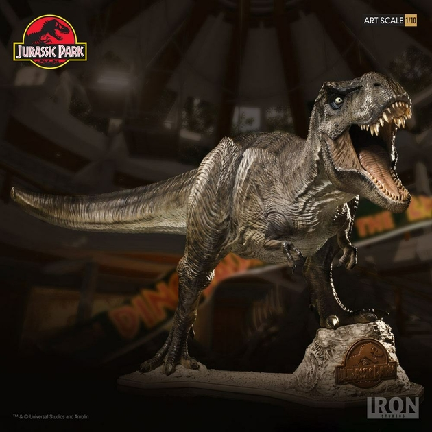 Statue Jurassic Park Art Scale T-Rex 44cm 1001 Figurines 1