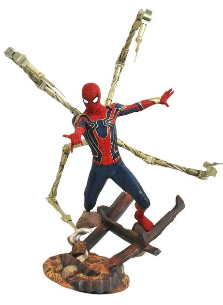 Statuette Avengers Infinity War Marvel Premier Collection Iron Spider-Man 30cm 1001 Figurines