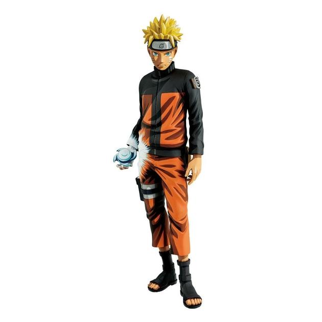 Figurine Naruto Shippuden Grandista Shinobi Relations Uzumaki Naruto Manga Dimensions 27cm 1001 Figurines