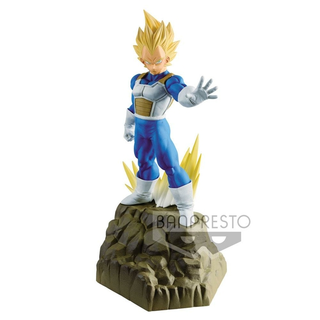 Figurine Dragon Ball Z Absolute Perfection Vegeta 17cm 1001 Figurines
