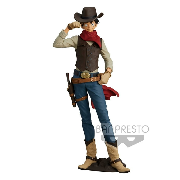 Figurine One Piece Treasure Cruise World Journey Monkey D. Luffy 21cm 1001 Figurines