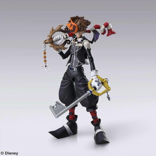 Figurine Kingdom Hearts II Bring Arts Sora Halloween Town Ver. 15cm 1001 Figurines