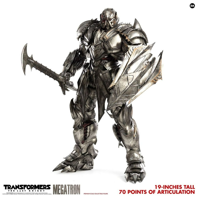 Figurine Transformers The Last Knight Megatron Deluxe Version 48cm 1001 Figurines