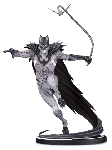 Statuette Batman Black & White Batman by Kenneth Rocafort 22cm 1001 Figurines