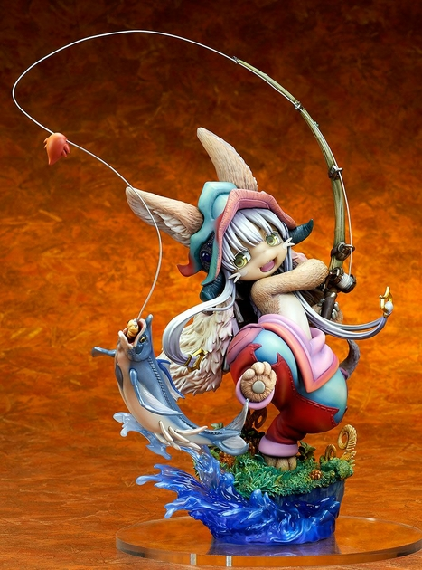 Statuette Made in Abyss Nanachi Gankimasu Fishing 23cm 1001 Figurines