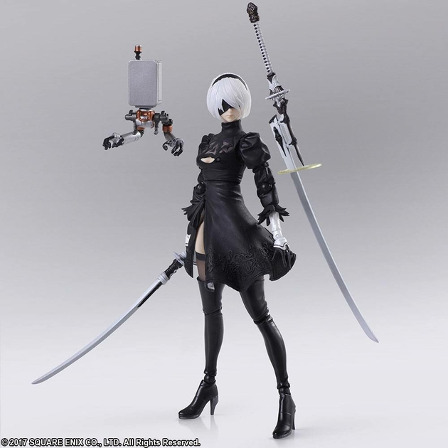 Figurine NieR Automata Bring Arts YoRHa No.2 Type B Version 2.0 - 14cm 1001 Figurines