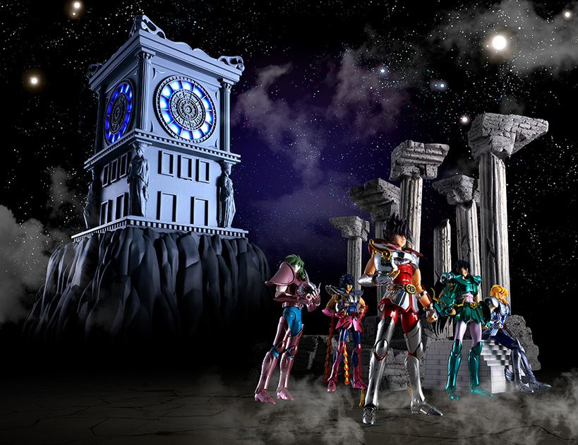 Réplique Horloge du Sanctuaire Saint Seiya Myth Cloth 26cm 1001 Figurines 4