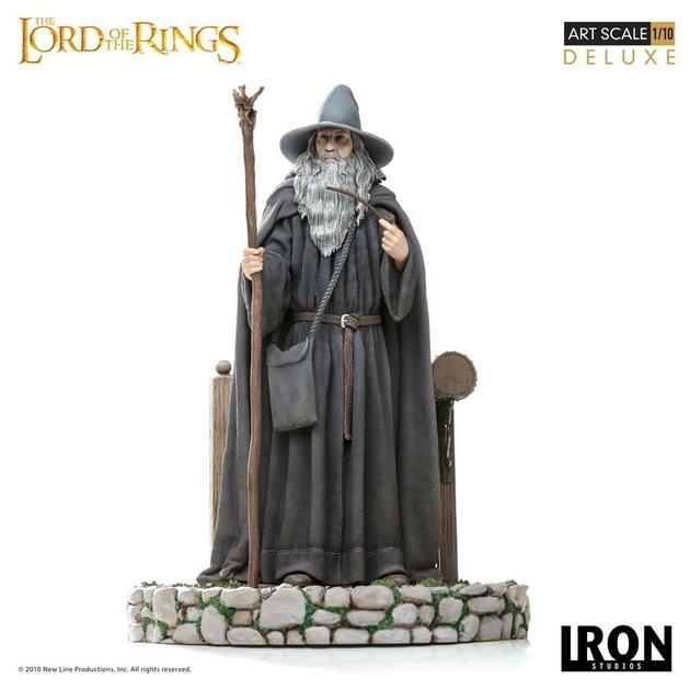 Statuette Le Seigneur des Anneaux Deluxe Art Scale Gandalf 23cm 1001 Figurines