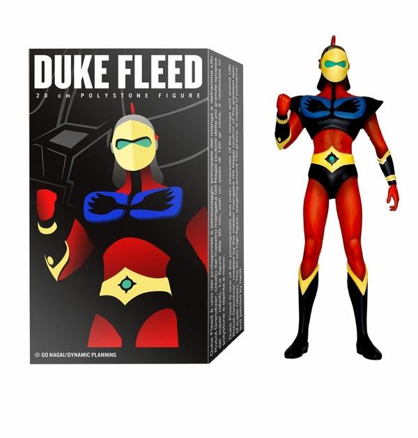 Statuette Goldorak Grendizer Pilot Series Duke Fleed 20cm 1001 Figurines