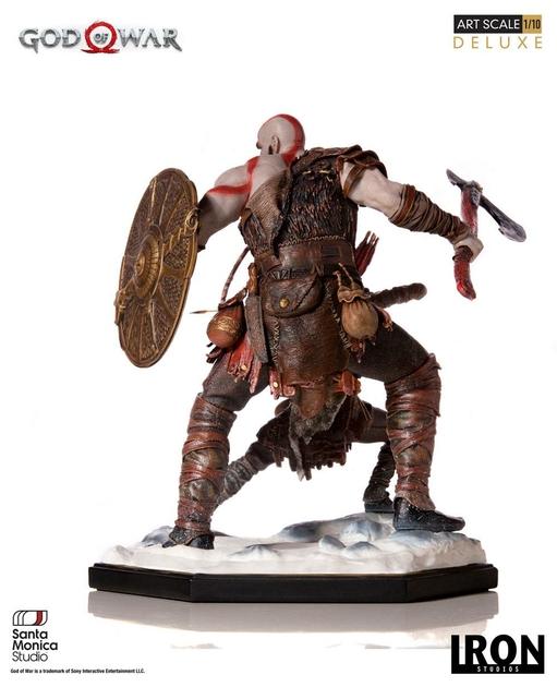 Statuette God of War Deluxe Art Scale Kratos & Atreus 20cm 1001 figurines (2)