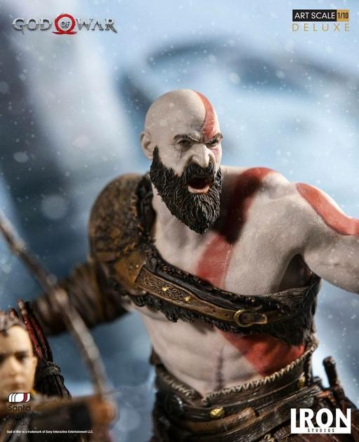 Statuette God of War Deluxe Art Scale Kratos & Atreus 20cm 1001 figurines (8)