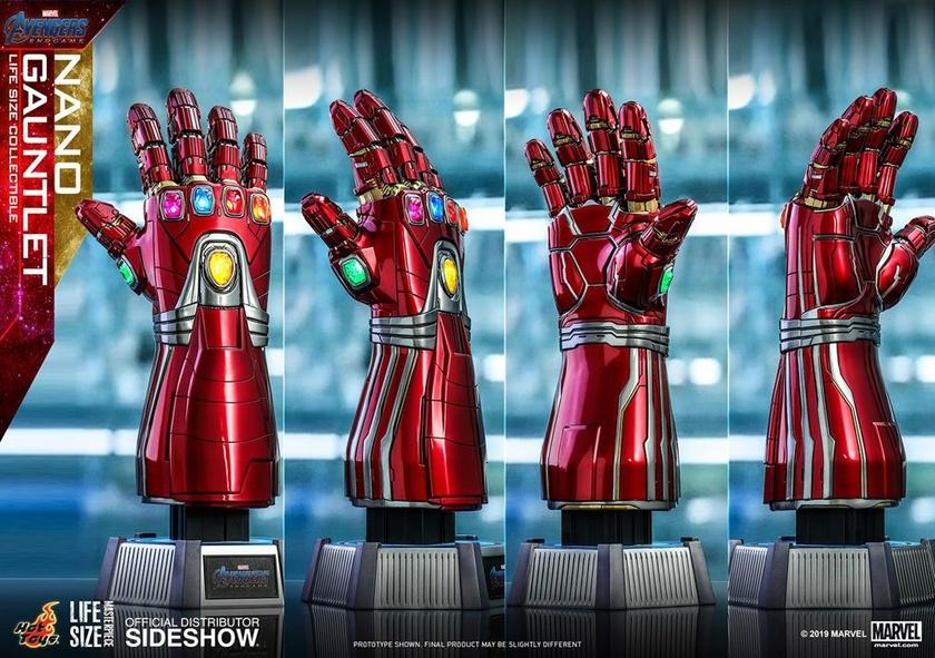 Réplique Avengers Endgame Life-Size Masterpiece Nano Gauntlet 52cm 1001 Figurines (5)
