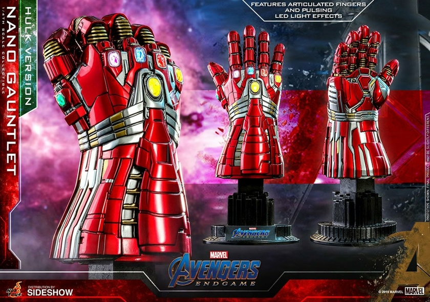 Réplique Avengers Endgame Nano Gauntlet Hulk Version 22cm 1001 Figurines (8)