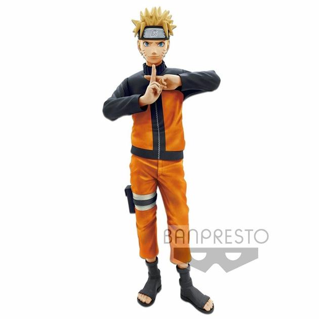 Figurine Naruto Shippuden Grandista nero Uzumaki Naruto 23cm 1001 Figurines (1)