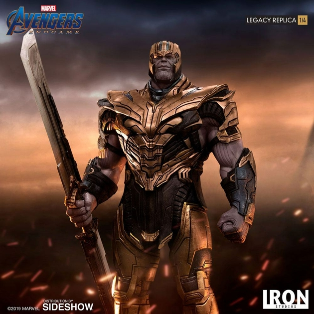 Statuette Avengers Endgame Legacy Replica Thanos 78cm 1001 Figurines (7)