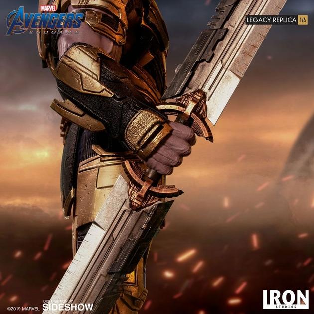 Statuette Avengers Endgame Legacy Replica Thanos 78cm 1001 Figurines (8)