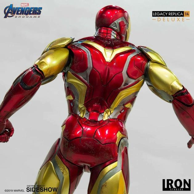 Statue Avengers Endgame Legacy Replica Iron Man Mark LXXXV Deluxe Version 84cm 1001 Figurines (5)