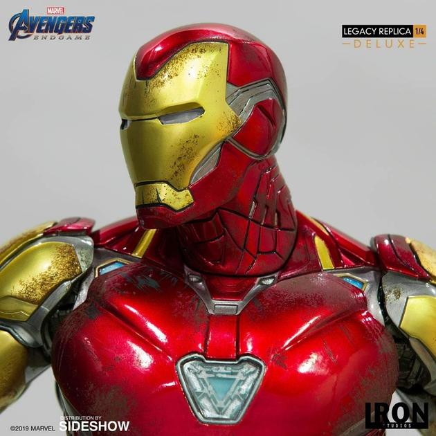 Statue Avengers Endgame Legacy Replica Iron Man Mark LXXXV Deluxe Version 84cm 1001 Figurines (6)