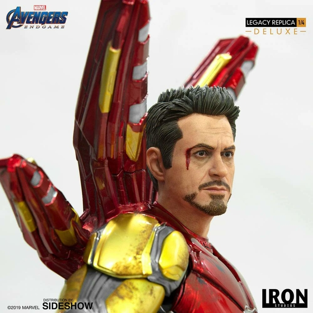 Statue Avengers Endgame Legacy Replica Iron Man Mark LXXXV Deluxe Version 84cm 1001 Figurines (12)