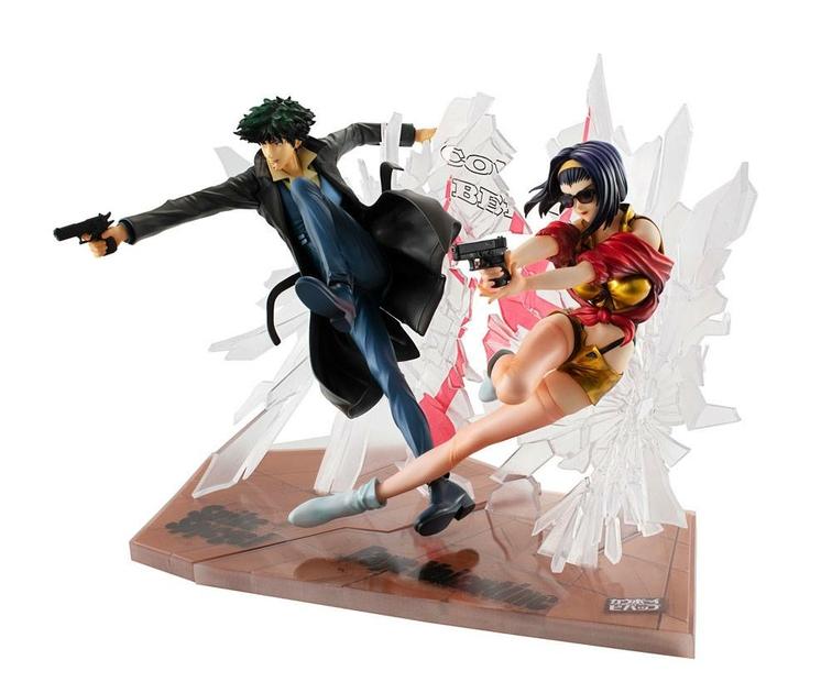 Statuettes Cowboy Bebop Spike Spiegel & Faye Valentine 1st GIG 20cm 1001 Figurines (4)
