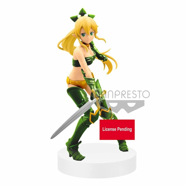 Statuette Sword Art Online Memory Defrag EXQ Leafa 21cm 1001 figurines