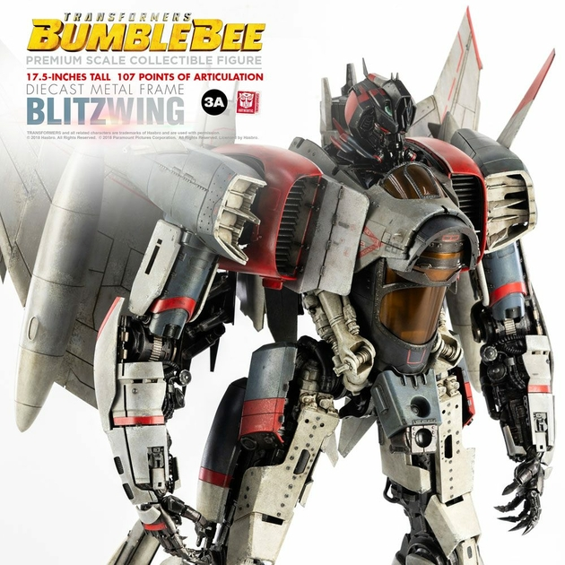 Figurine Bumblebee Premium Scale Blitzwing 44cm 1001 figurines (4)