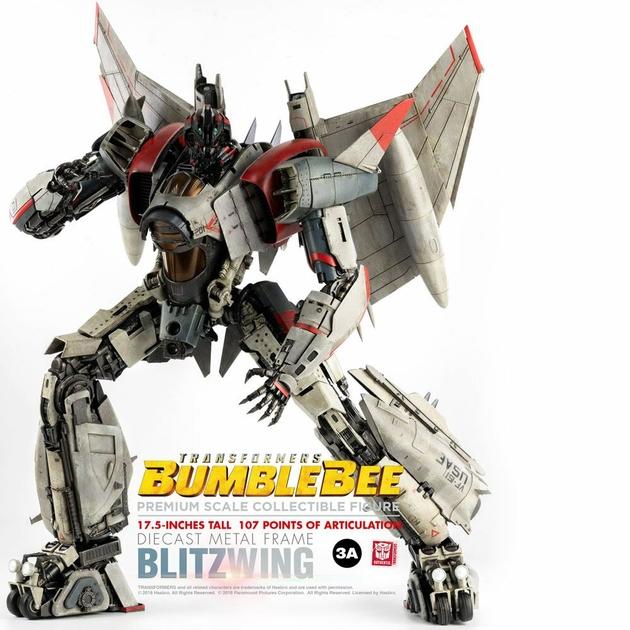 Figurine Bumblebee Premium Scale Blitzwing 44cm 1001 figurines (5)