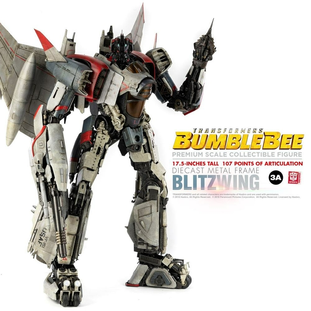 Figurine Bumblebee Premium Scale Blitzwing 44cm 1001 figurines (6)