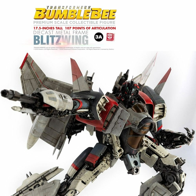Figurine Bumblebee Premium Scale Blitzwing 44cm 1001 figurines (7)