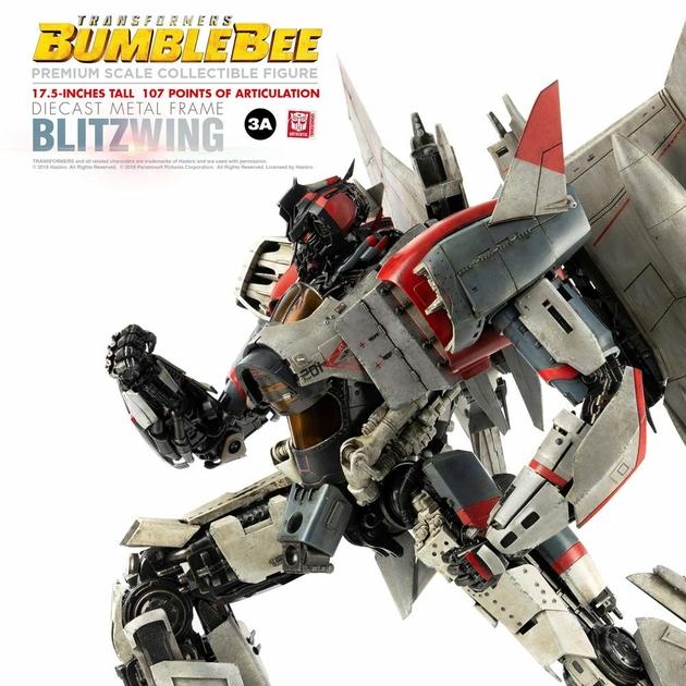 Figurine Bumblebee Premium Scale Blitzwing 44cm 1001 figurines (8)