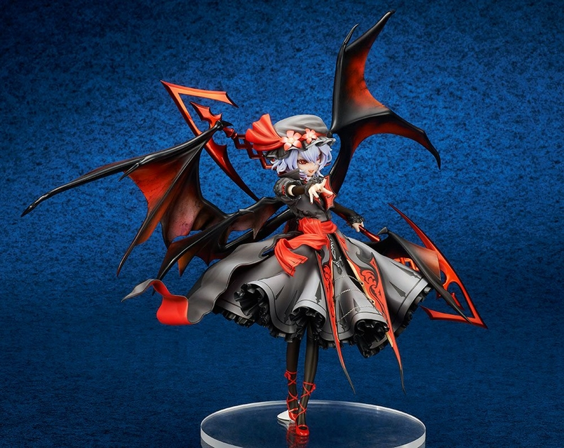Statuette Touhou Project Remilia Scarlet Extra Color Ver. 18cm 1001 Figurines (4)