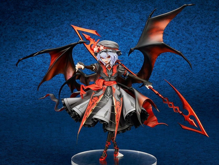 Statuette Touhou Project Remilia Scarlet Extra Color Ver. 18cm 1001 Figurines (5)