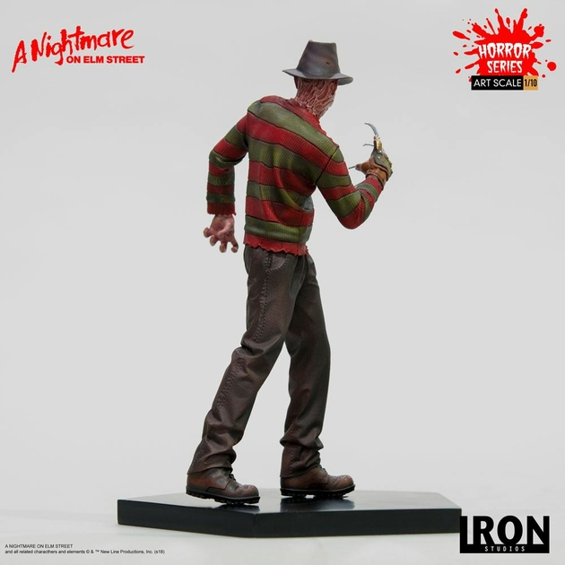 Statuette Nightmare On Elm Street Art Scale Freddy Krueger 19cm 1001 figurines (4)