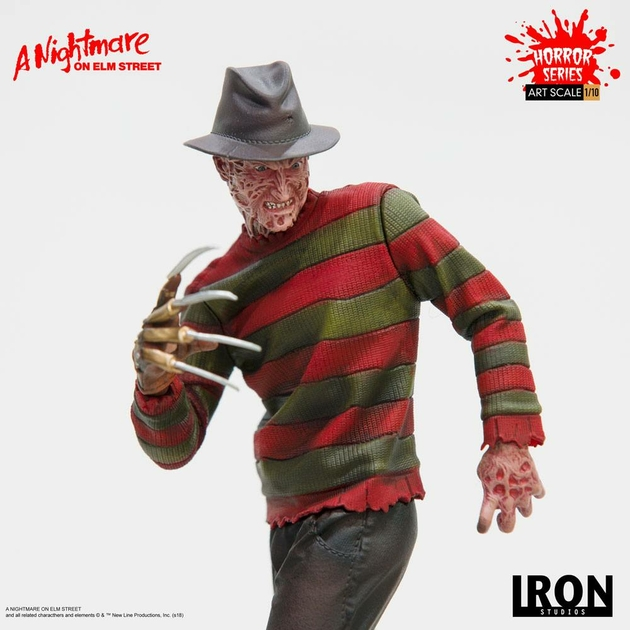 Statuette Nightmare On Elm Street Art Scale Freddy Krueger 19cm 1001 figurines (9)