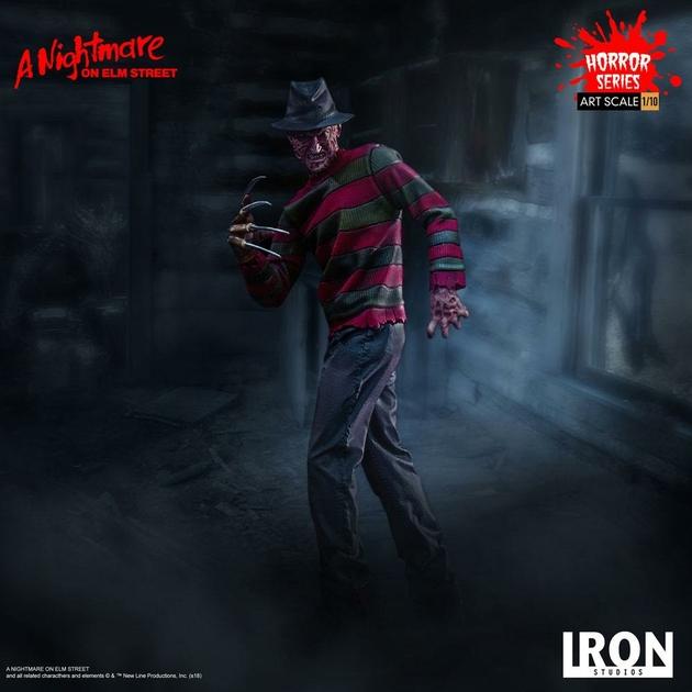 Statuette Nightmare On Elm Street Art Scale Freddy Krueger 19cm 1001 figurines (11)