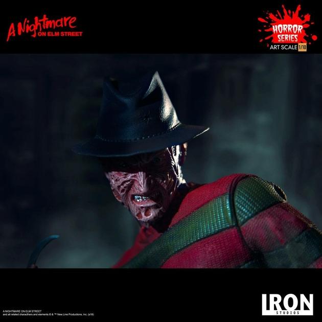 Statuette Nightmare On Elm Street Art Scale Freddy Krueger 19cm 1001 figurines (12)