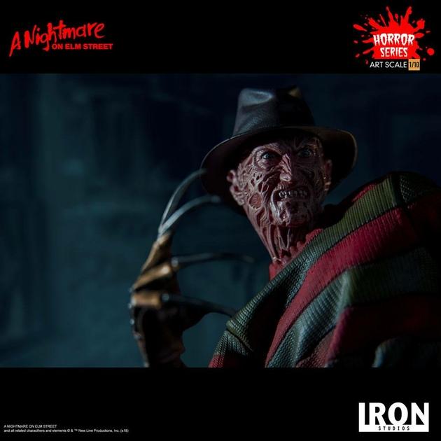 Statuette Nightmare On Elm Street Art Scale Freddy Krueger 19cm 1001 figurines (13)