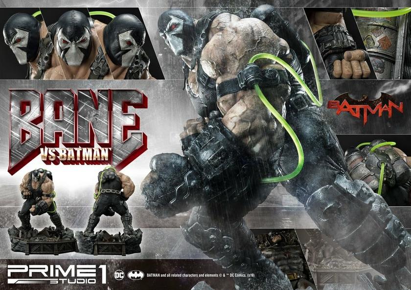 Statue DC Comics Bane VS Batman 83cm 1001 Figurines (20)