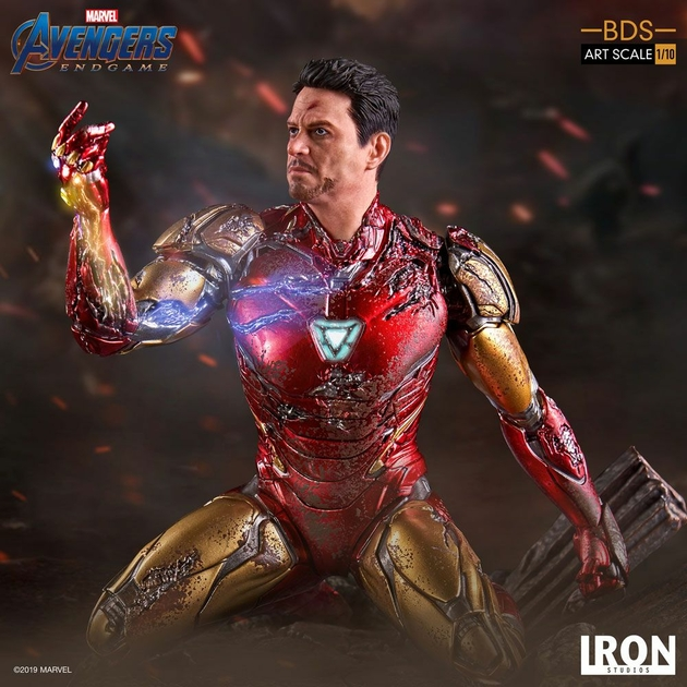 Statuette Avengers Endgame BDS Art Scale I am Iron Man 15cm 1001 figurines (1)