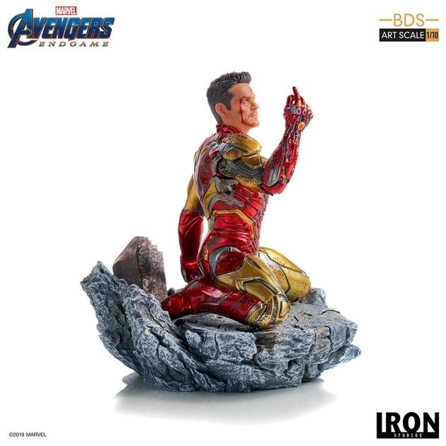 Statuette Avengers Endgame BDS Art Scale I am Iron Man 15cm 1001 figurines (3)