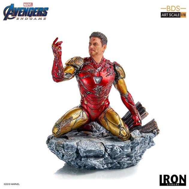 Statuette Avengers Endgame BDS Art Scale I am Iron Man 15cm 1001 figurines (6)