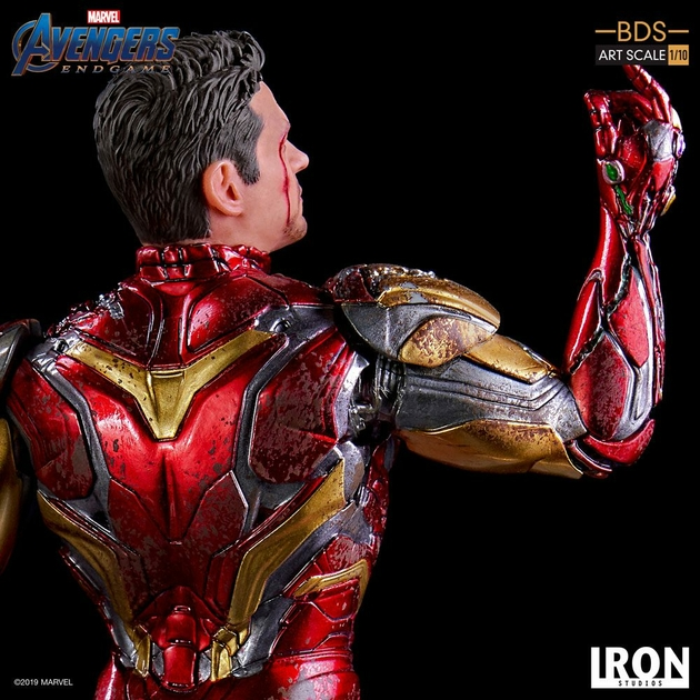Statuette Avengers Endgame BDS Art Scale I am Iron Man 15cm 1001 figurines (7)