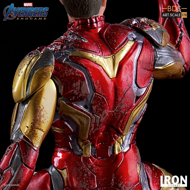 Statuette Avengers Endgame BDS Art Scale I am Iron Man 15cm 1001 figurines (8)