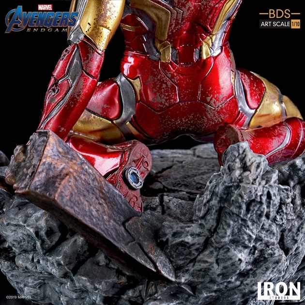 Statuette Avengers Endgame BDS Art Scale I am Iron Man 15cm 1001 figurines (11)